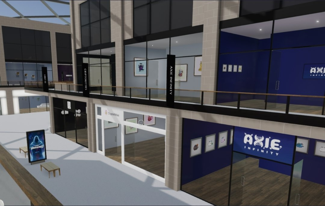 Crypto Art Galleries In Decentraland